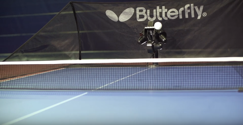 Butterfly Amicus Advance Table Tennis Robot Review