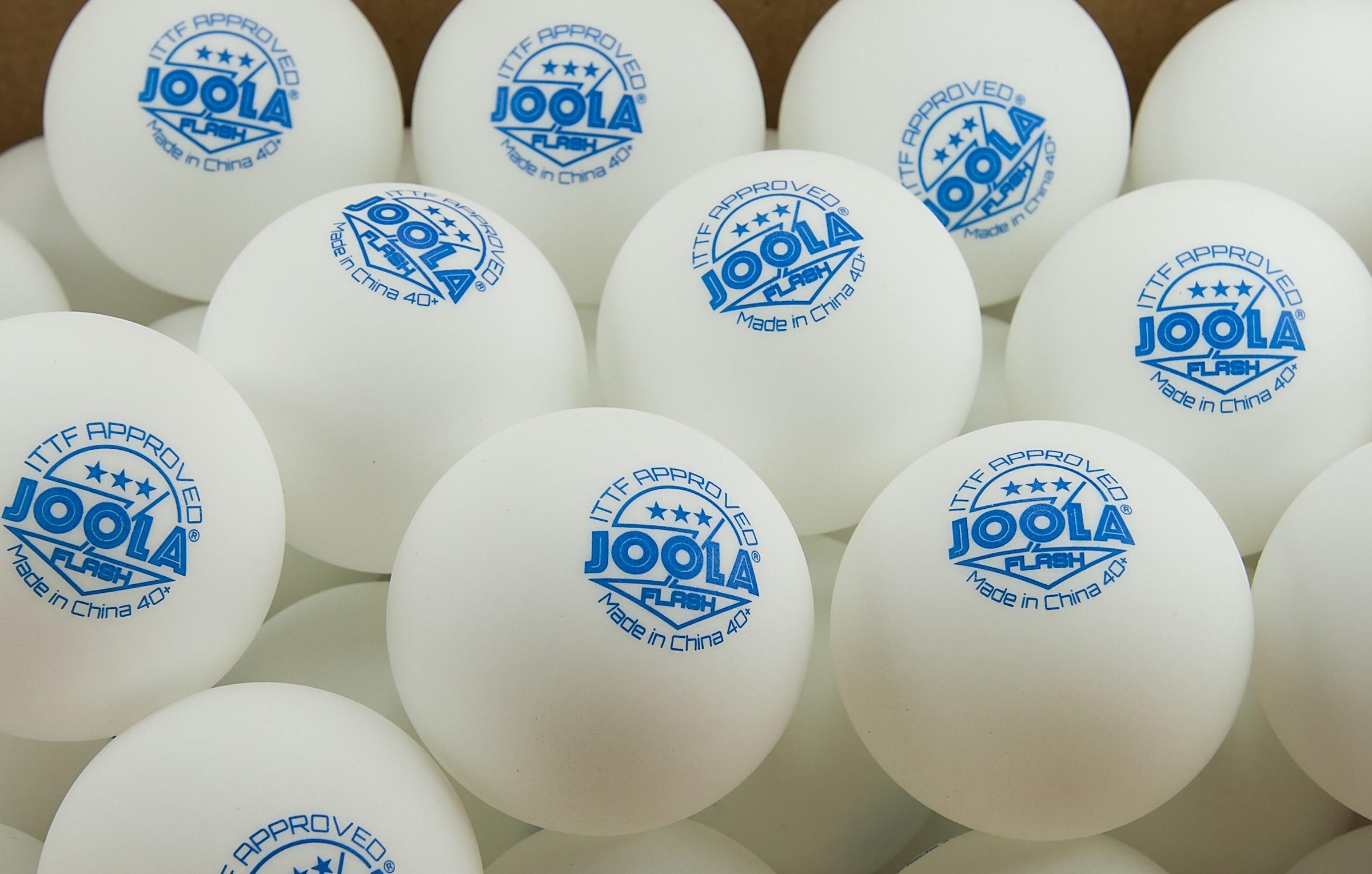 Joola Flash 40+ 3-Star Table Tennis Ball Review