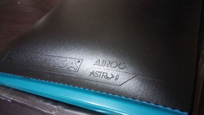 Stiga Airoc Astro S Table Tennis Rubber Review