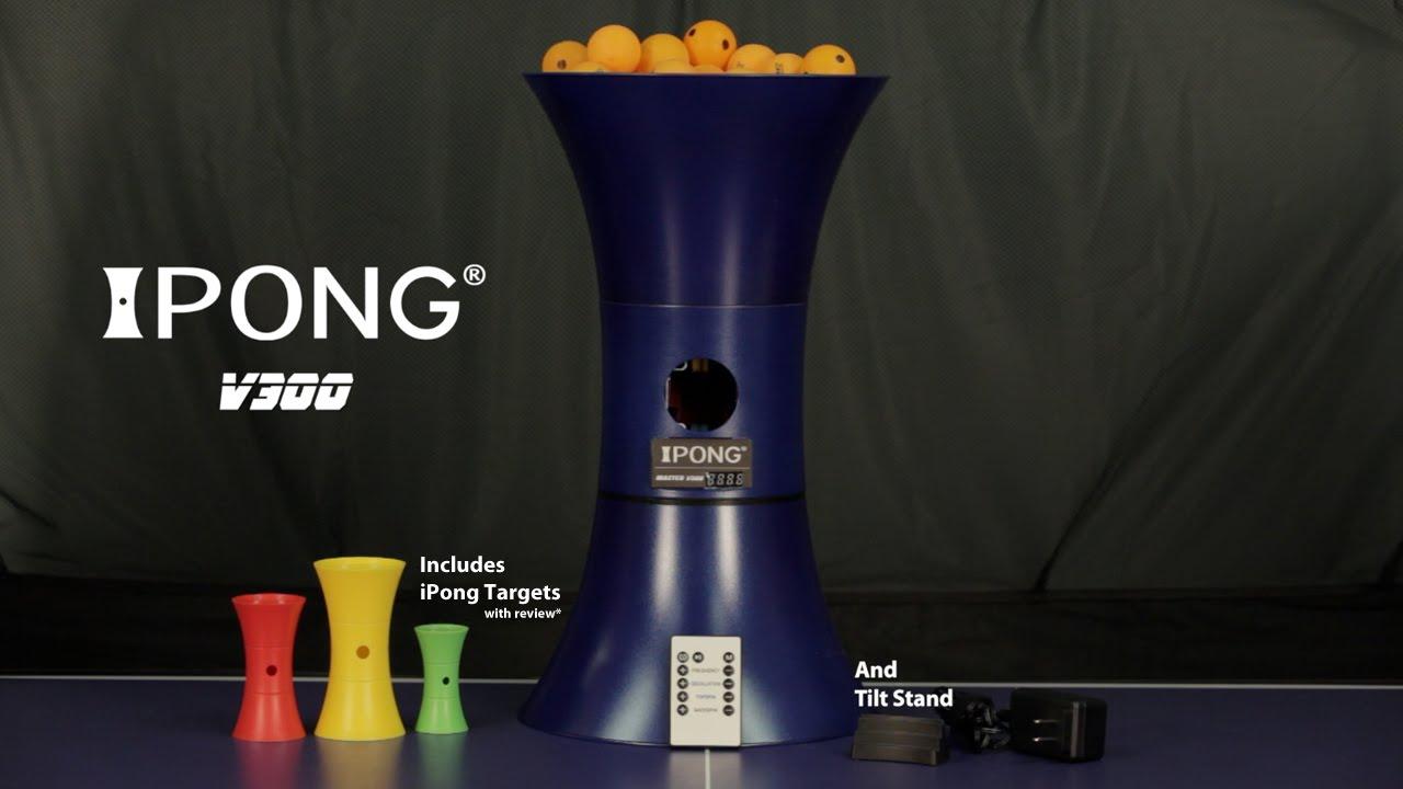 Ipong Expert tennis de table Robot