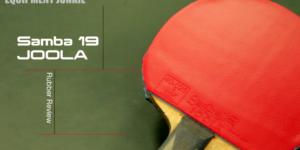 Joola Samba 19 Table Tennis Rubber Review