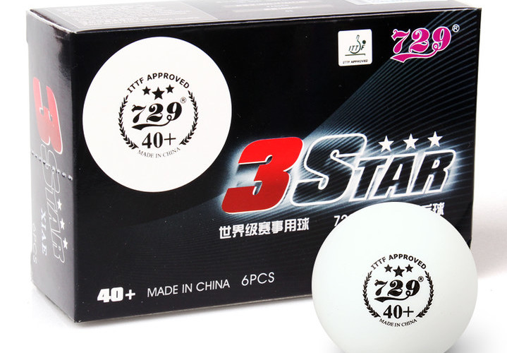 729 Friendship 40+ 3-Star Table Tennis Ball Review