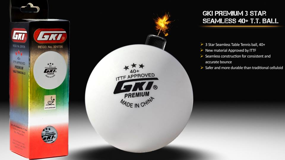 GKI Premium 40+ 3-Star Table Tennis Ball Review
