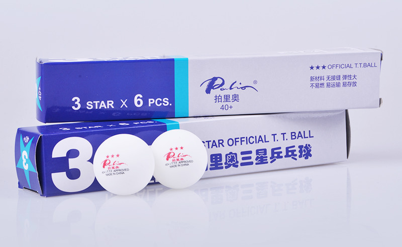 Palio 40+ 3-Star Table Tennis Ball Review