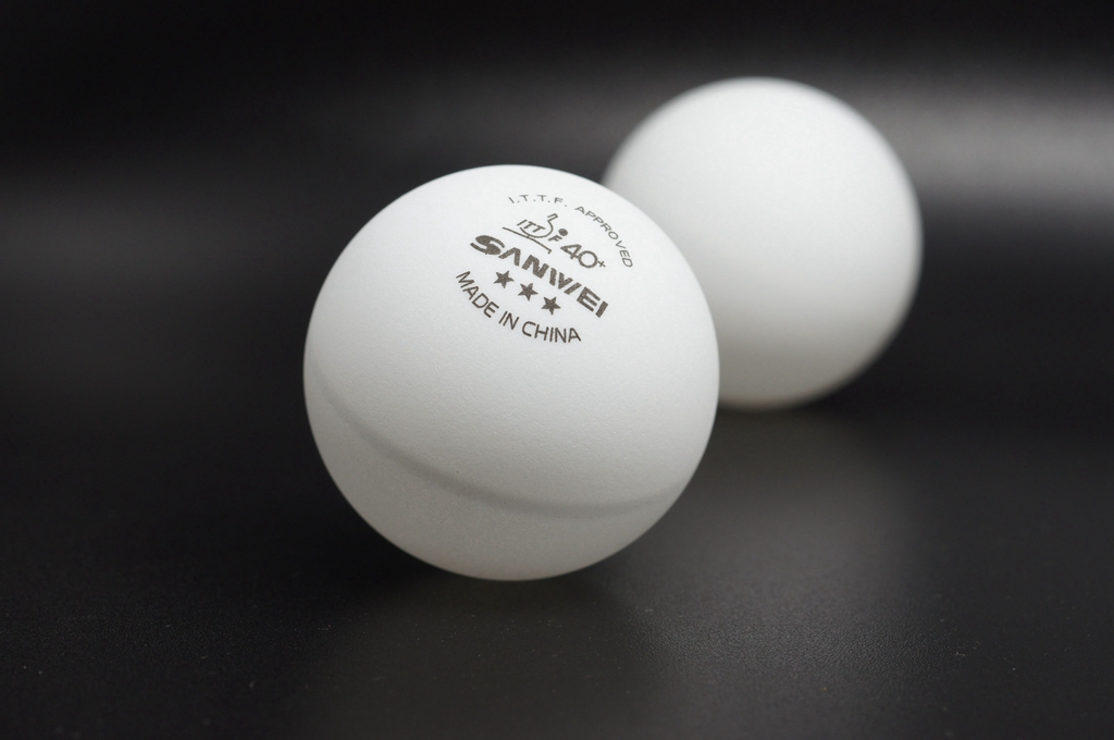 Sanwei 40+ 3-Star Table Tennis Ball Review
