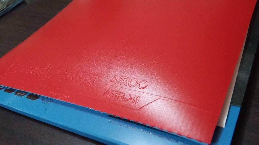 Stiga Airoc Astro M Table Tennis Rubber Review