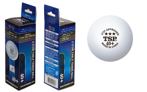 TSP 40+ 3-Star Table Tennis Ball Review