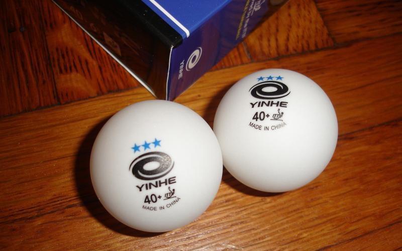 Yinhe 40+ 3-Star Table Tennis Ball Review