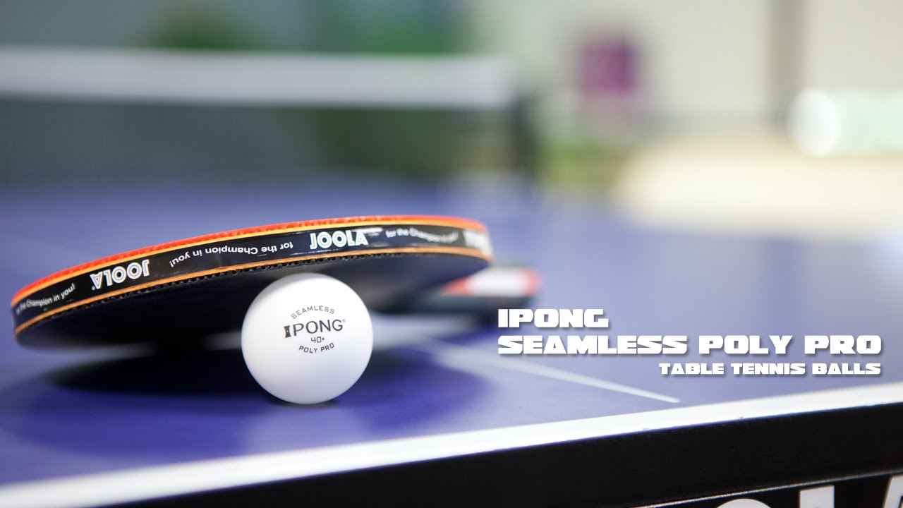 iPong Sphere 40+ 3-Star Table Tennis Ball Review
