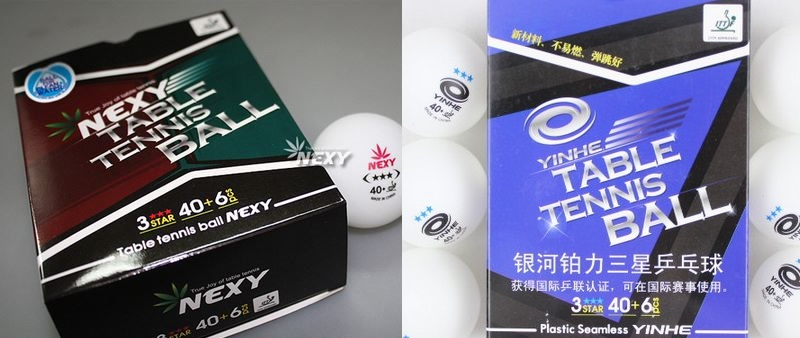 yinhe vs nexy ball box packaging