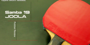 Joola Samba 19 Table Tennis Rubber Review